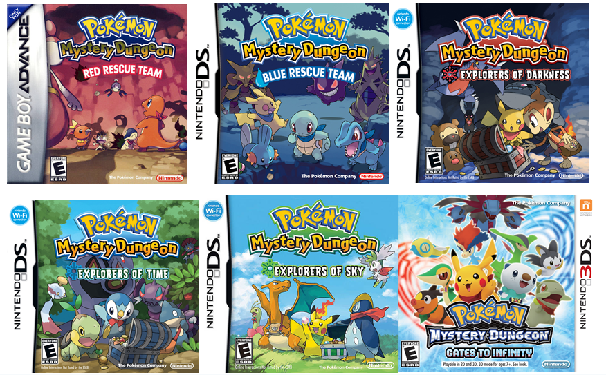 Review Pok 233 Mon Mystery Dungeon Gates To Infinity 3ds